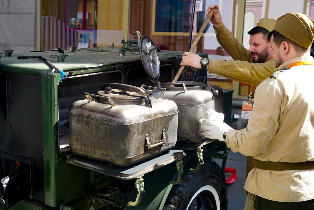 Полевая кухня на 9 Мая в Москве от Товарищ Полковник