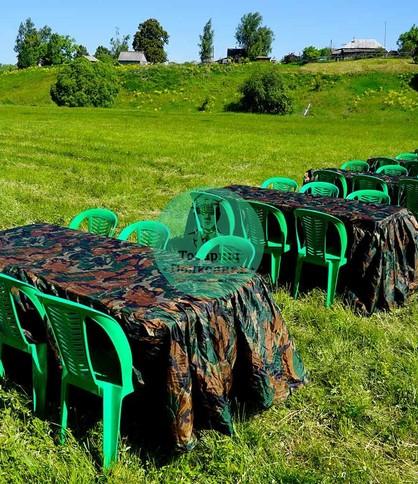 Аренда пластиковой мебели в Москве