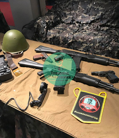 Сборка-разборка оружия, мастер-класс выездной