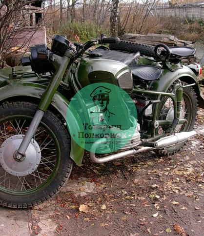 Мотоцикл для фотографирования